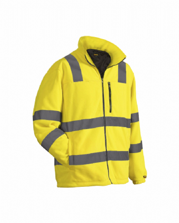Blaklader 4853 Fleece Jacket High Visibility (Yellow)